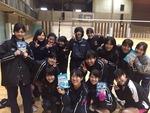 日吉合宿2015.2 ありささん差し入れありがとうございました!