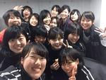 日吉合宿の宿にまゆさんが来てくださいました!