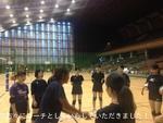 元全日本代表選手の方々にコーチとしていらしていただきました!